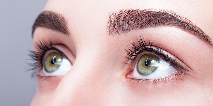 Permanentní make-up obočí pudrovou metodou nebo stínování rtů