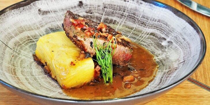 Vouchery až na 2000 Kč na cokoliv z menu v restauraci Noem Arch: saláty, těstoviny, zvěřina i ryby