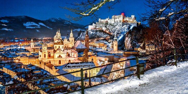 Adventní den v Salzburgu: doprava busem, vánoční trhy a UNESCO památky