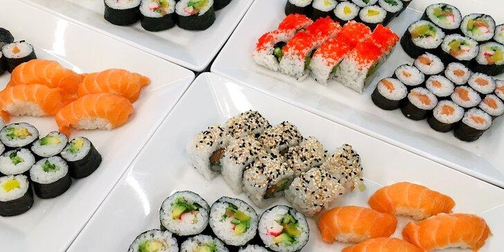 All you can eat oběd v Karlíně: asijská kuchyně, sushi, saláty a další dobroty