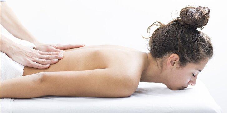 60 nebo 90 min. relaxace: masáže podle výběru ze 4 druhů, lymfatická, anticelulitidová nebo lávovými kameny