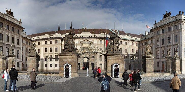Procházka Pražským hradem s certifikovaným průvodcem