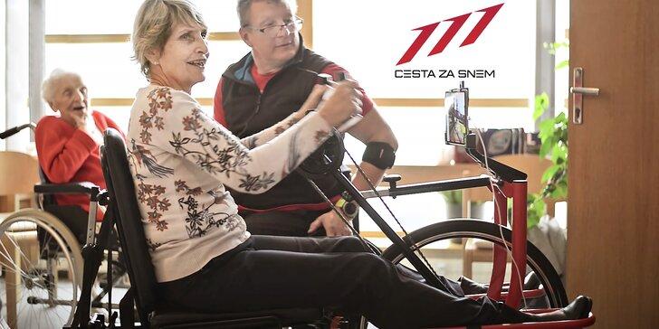 Sledujte Lvice, hrdinky s handicapem, a přispějte na handbike trenažér pro seniory