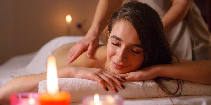 Pro uvolnění ztuhlých svalů: klasická celková masáž v délce 50 minut