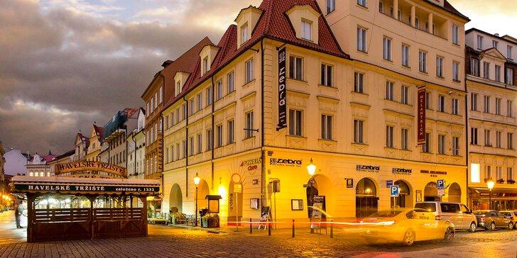 Krásný podzim v Praze: ubytování se snídaní na Malé Straně i vstup do klubu