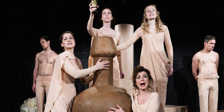 Vstupenka na divadelní představení Traktát o lásce v Divadle MA