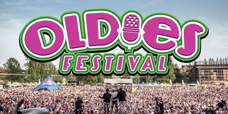 Vstupenka na Oldies festival: mega pařba pod širým nebem na hity 90. let