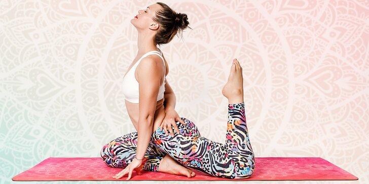 Hýbejte se kdy a kde chcete: online lekce jógy na 24 hodin, 30 dní i 4 měsíce