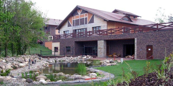 Romantika a relax v golfovém resortu u Pardubic s privátní vířivkou
