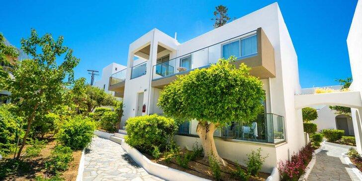 4* hotel s all inclusive přímo na pláži Adelianos Kampos nedaleko Rethymnonu