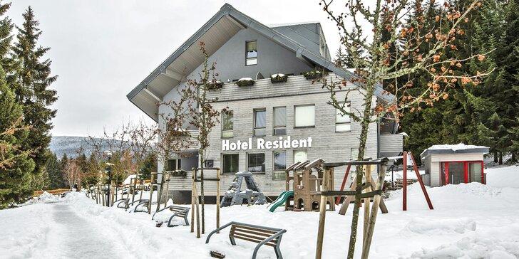 Luxusní pobyt v Harrachově: polopenze, wellness procedury a slevy na lanovky