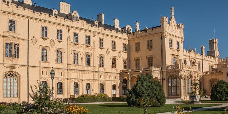 Skvělý relax v Lednici: hotel u zámku, snídaně, víno, vířivka i sauna