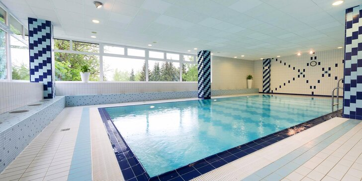 Podzimní pobyt na Vysočině: snídaně či polopenze a vstup do krytého bazénu