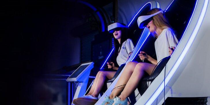 Ponořte se do děje: 2 filmy dle výběru promítané v 9D virtuální realitě pro 1 i 2 os.