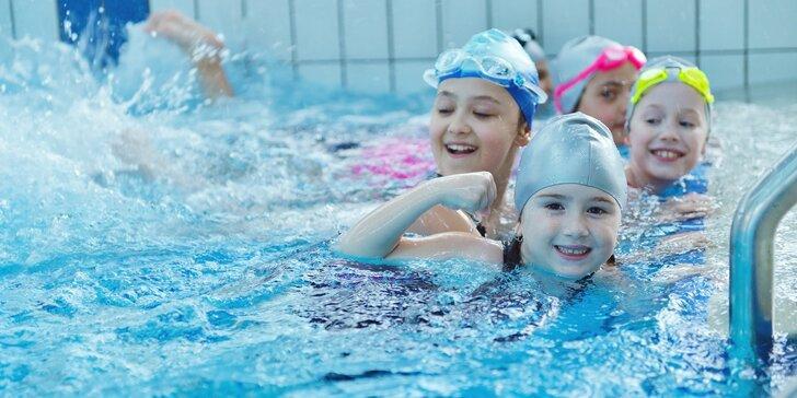 Tréninky plavání pro děti plavce i neplavce v bazénu na Slavii