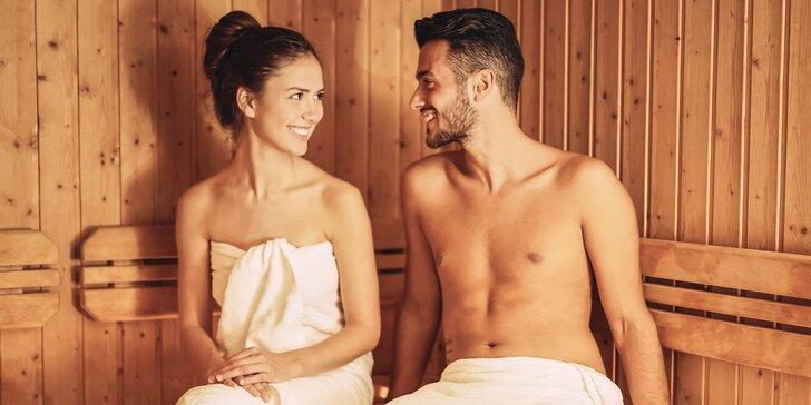 Hodina v privátním wellness pro dva: Sauna či vířivka nebo obojí