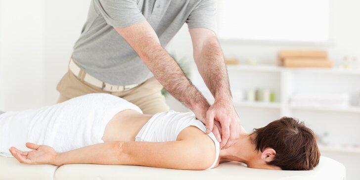 Uvolněte se: 30 nebo až 3x 60 min. zdravotní masáže podle výběru
