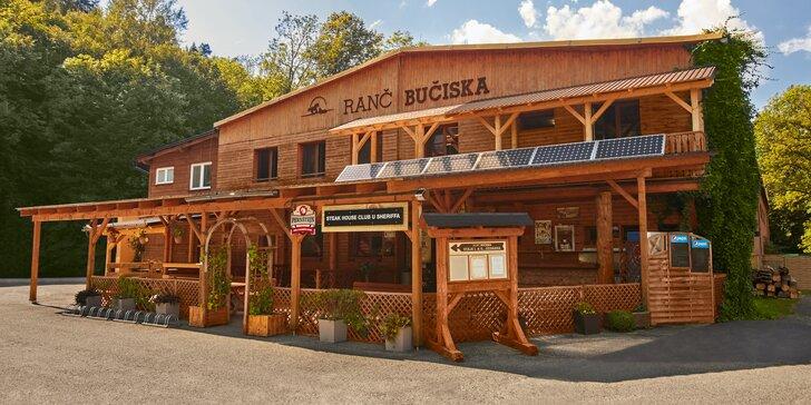Zážitky na ranči v Beskydech až pro 4 osoby: polopenze, privátní wellness, masáž nebo jízda na koni
