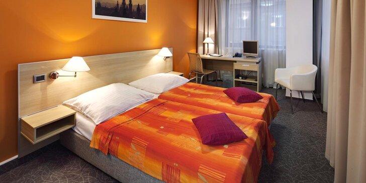 Poznejte Prahu zblízka: pobyt se snídaní v moderním hotelu na Vítkově