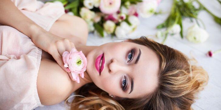 Kosmetické ošetření pleti i s aroma masáží, maskou či remodelujísérem