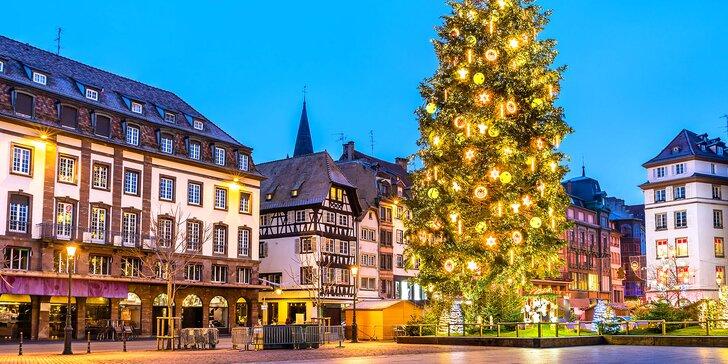 Třídenní adventní zájezd do Německa a Francie: Amberg, Norimberk, Štrasburk, přespání v hotelu a snídaně