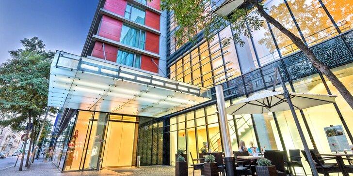 4* pobyt v designovém hotelu v Praze: rodinný i romantický pobyt, snídaně, zábava pro děti i možnost wellness