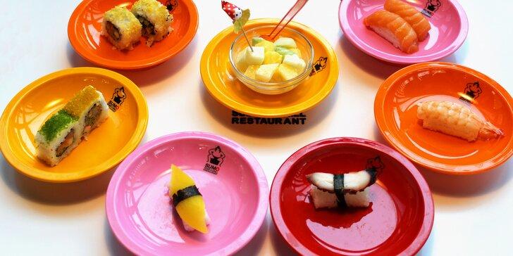 Running sushi v Hradci Králové: 2 hodiny neomezené konzumace asijských pochoutek