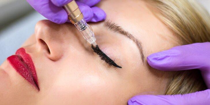Permanentní make-up: oční linky, stínované obočí a rty