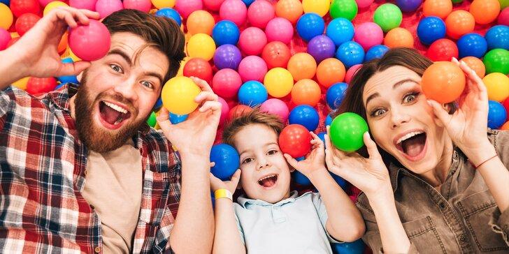 Užijte si zábavu v dětské herně Smajlíkov: dvouhodinové vstupy