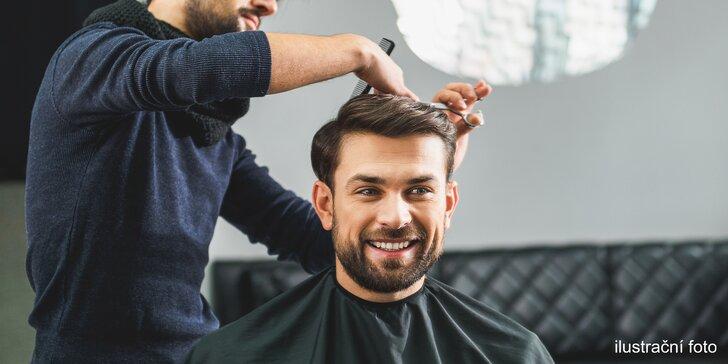 Buďte za dokonalého šviháka: pánský střih včetně konzultace a stylingu