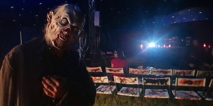 Pouze pro odvážné: vstupenka na Horror Zombie Cirkus v Roudnici nad Labem