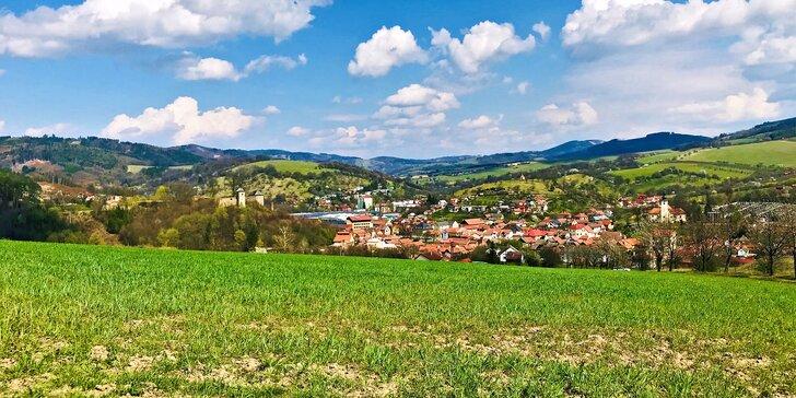 Střední Morava: útulný hotel kousek od Karpat, skvělé jídlo a výlety