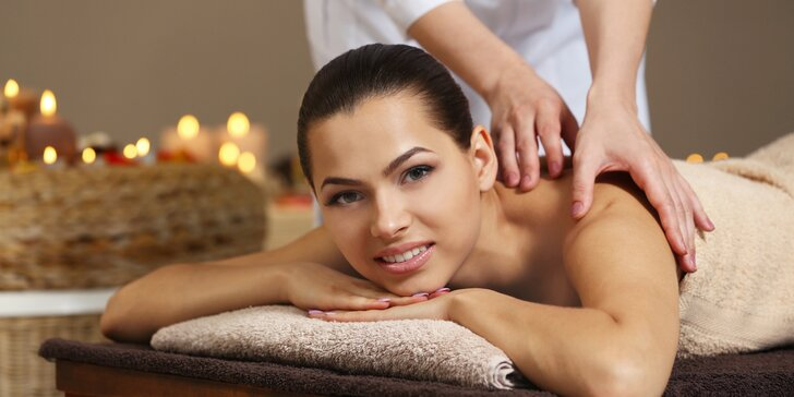 90 minut relaxace: výběr z thajských masáží vč. zábalu, extra masáž a oxygenoterapie