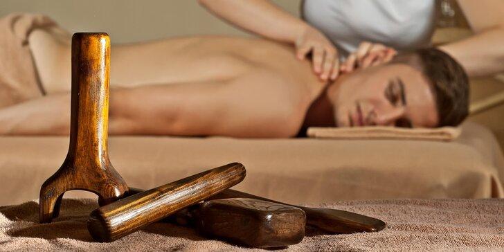 30–90 min. masáže dle výběru: šíje, thajská Tok Sen, lymfatická, anticelulitidní