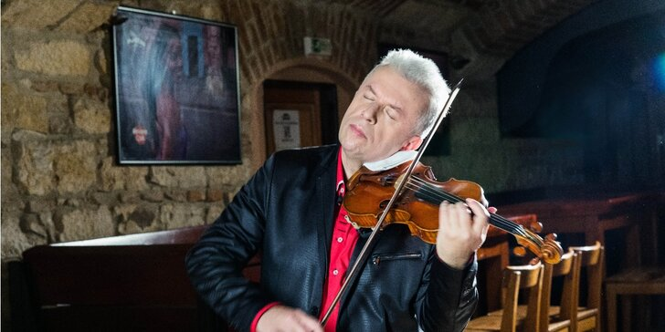 Vstupenka na koncert: Jaroslav Svěcený & Cigánski Diabli