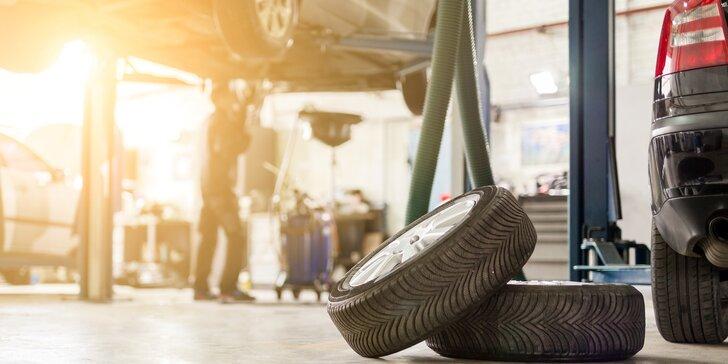 Z letních na zimní bez námahy: přezutí kol auta i s demontáží pneumatik z disků