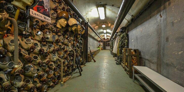 Navštivte atomový bunkr: 90min. vycházka s výkladem a návštěvou bunkru