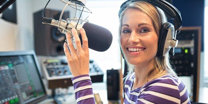 Staňte se moderátorem: 2denní kurz pro dospělé i děti s přípravou zpráv i živým vysíláním