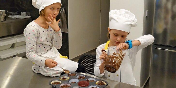 Kurzy pečení a vaření pro jedno i dvě děti: makronky, donuty, cupcaky, domácí těstoviny i sushi