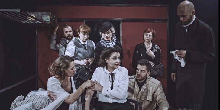Vstupenka na divadelní představení Vražda v Orient Expresu