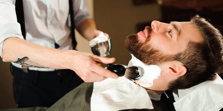 Nový barber na Vinohradech: holení, stříhání i balíček kompletní péče