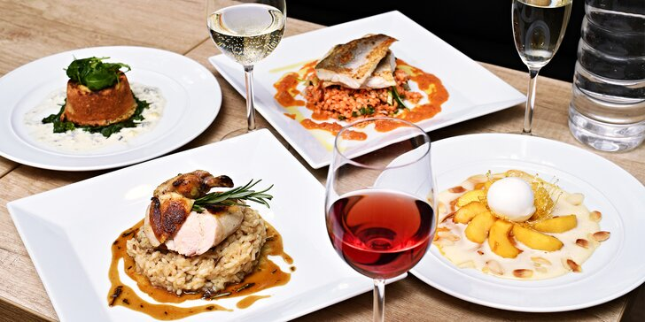 Degustační menu dle výběru i s možností vinného párování pro 2 osoby