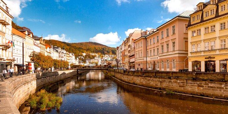 Lázeňská pohoda: pobyt v Karlových Varech pro rodiny i páry