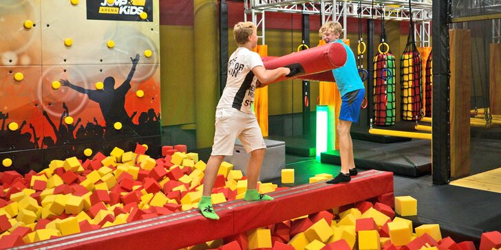 Místo, kde se vyřádí malí i velcí: Jump and kids aréna plná skvělých atrakcí