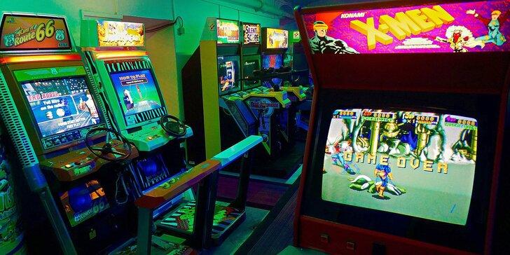 Automaty z celého světa: vstup do arkádové herny a privátní hraní s přáteli