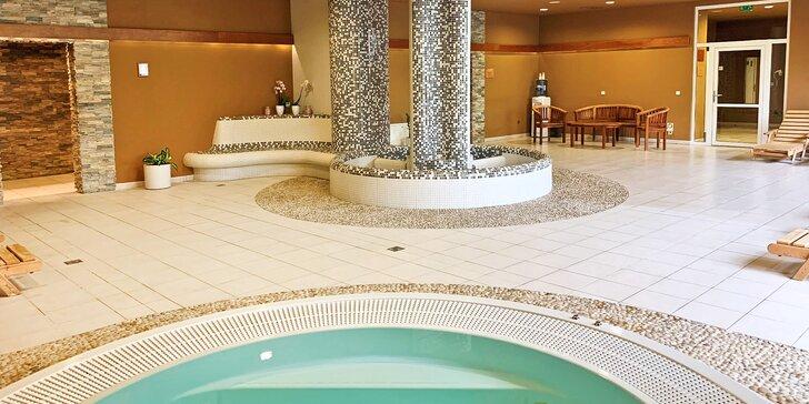 4* relaxace v krajině UNESCO: wellness, venkovní bazén, polopenze