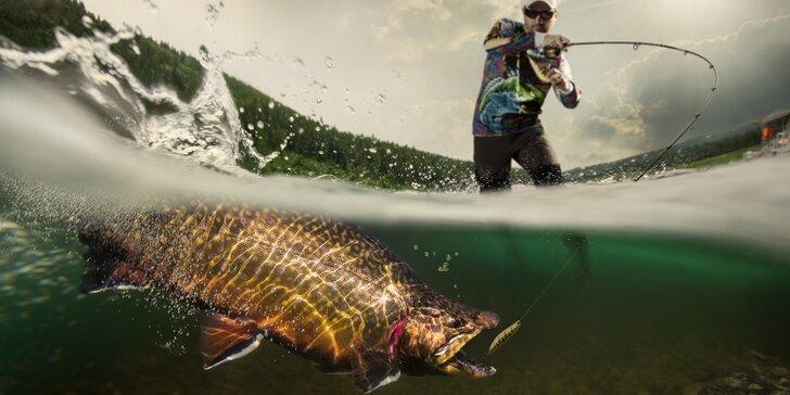 Na den nebo dva rybářem: povolenka a vybavení, první úlovky si odnesete nebo pustíte zpět pro štěstí