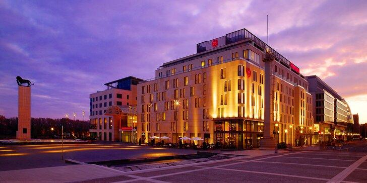 Dovolená v luxusním 5* hotelu v Bratislavě: snídaně, welcome drink