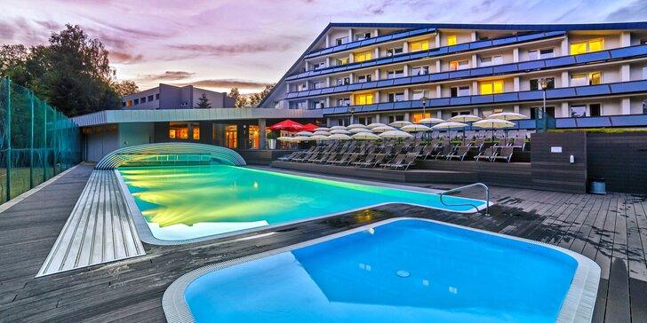 Hotel na Seči: jídlo, sport a relaxace v Akvafit i Wellness & Spa centru