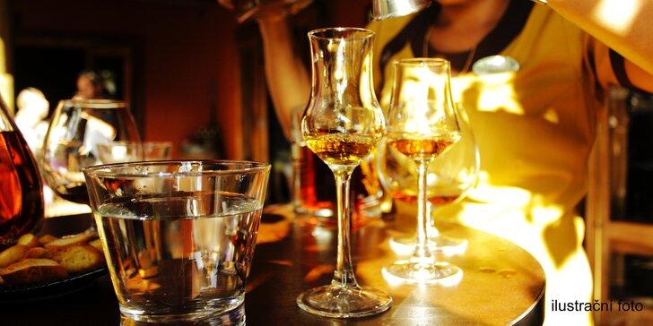 Opravdová kvalita: řízená degustace 5 špičkových rumů z různých zemí pro 1 nebo 2 znalce